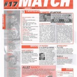 Feuille de Match n°17 05-06