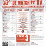 Programme Nancy-Bordeaux (Feuille de match #17) - Saison 2011-2012 - L1 (32e j., 15/04/2012)