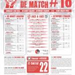 Programme Nancy-Lyon (Feuille de match #18) - Saison 2012-2013 - L1 (35e j., 05/05/2013)