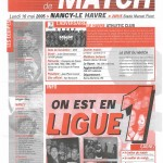 Feuille de Match n°19 04-05