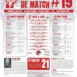 Programme Nancy-St-Étienne (Feuille de match #19) - Saison 2011-2012 - L1 (37e j., 13/05/2012)