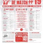 Programme Nancy-Bastia (Feuille de match #19) - Saison 2012-2013 - L1 (37e j., 18/05/2013)