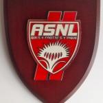 Emblème sur bois ASNL