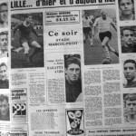 Programme Nancy-Lille - Saison 1968-1969 - D2 (14e j., 02/11/1968) - Supplément à L'Est républicain du 02/11/1968