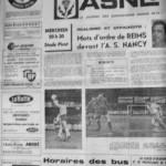 Programme Nancy-Reims - Saison 1969-1970 - D2 (7e j., 08/10/1969) - Supplément à L'Est républicain du 07/10/1969