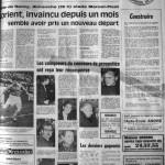 Programme Nancy-Lorient - Saison 1968-1969 - D2 (26e j., 23/02/1969) - Supplément à L'Est républicain du 20/02/1969