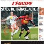 L'Équipe, 22/04/2006