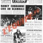L'Équipe, 27/05/1974