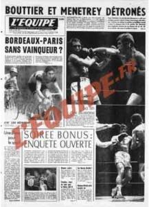 L'Équipe, 28/05/1974, « Soirée bonus : enquête ouverte » — Au lendemain de ce scandale, une enquête est ouverte, mais les instances du football français n'auront pas le courage de la mener jusqu'au bout et la relégation de l'ASNL sera confirmée.