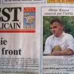 L'Est républicain, 29/06/1994, La veille de la reprise de l'entraînement, Gérard Parentin, président de l'ASNL, crée la surprise en annonçant le limogeage de l'entraîneur Olivier Rouyer et son remplacement par son adjoint Laszlo Bölöni