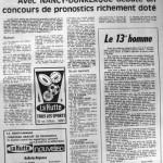 Programme Nancy-Dunkerque - Saison 1968-1969 - D2 (1re j., 04/09/1968) - Supplément à L'Est républicain du 04/09/1968