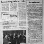 Programme Nancy-Cannes - Saison 1967-1968 - D2 (26e j., 05/04/1968) - Supplément à L'Est républicain du 04/04/1968