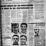Programme Nancy-Bataillon de Joinville - Saison 1968-1969 - D2 (7e j., 27/09/1968) - Supplément à L'Est républicain du 27/09/1968