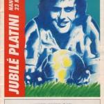 Programme officiel Jubilé Platini (stade Marcel-Picot, 23/05/1988)