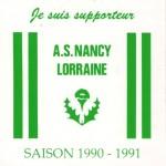 Autocollant - Saison 1990-1991