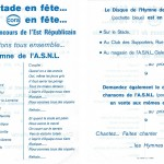 Paroles de l'hymme de l'ASNL