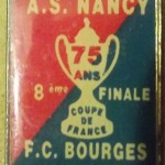 Pins Nancy-Bourges - Saison 1991-1992 - Coupe de France (8e de finale,08/04/1992)