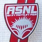 Pins logo ASNL de 2006 à 2013
