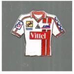 Pins ASNL maillot domicile - Saison 2001-2002