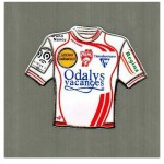 Pins ASNL maillot domicile - Saison 2008-2009