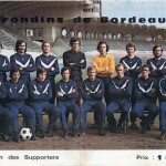 Programme Bordeaux-Nancy - Saison 1972-1973 - D1 (31e j., 11/04/1973)