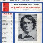 Programme Bordeaux-Nancy - Saison 1978-1979 - D1 (7e j., 22/08/1978)