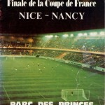 Programme Nice-Nancy - Saison 1977-1978 - Coupe de France (finale, 13/05/1978)