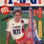 Programme Paris SG-Nancy - Saison 1986-1987 - D1 (15e j., 31/10/1986)