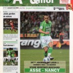 Programme St-Étienne-Nancy - Saison 2008-2009 - L1 (34e j., 02/05/2009)