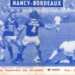 Programme Bordeaux-Nancy - Saison 1973-1974 - D1 (13e j., 30/1/1973)