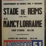 Affiche Nancy-Reims - Saison 1978-1979 - D1 (19e j., 14/11/1978)