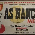Affiche Metz-Nancy - Saison 1979-1980 - D1 (3e j., 10/08/1979)