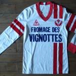 Saison 1981-1982 maillot replica domicile