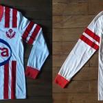 Saison 1982-1983 maillot domicile porté