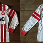 Saison 1983-1984 maillot domicile porté