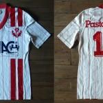 Saison 1984-1985 maillot domicile porté