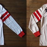 Saison 1985-1986 maillot domicile porté