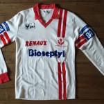 Saison 1988-1989 maillot officiel domicile