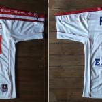 Maillot championnat domicile porté/préparé (Nicolas Florentin) - Saison 2000-2001