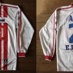 Maillot championnat domicile porté/préparé (Zé Alcino) - Saison 2001-2002