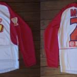 Maillot Coupe de la Ligue porté/préparé (Patrick Moreau) - Saison 2004-2005