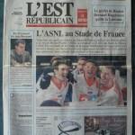 Saison 2005-2006 L'Est Républicain 09-02-2006