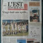 Saison 2005-2006 L'Est Républicain 22-04-2006