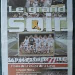 Saison 2005-2006 L'Est Républicain 22-04-2006 hors série Coupe de la Ligue