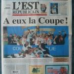 Saison 2005-2006 L'Est Républicain 23-04-2006