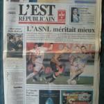 Saison 2006-2007 L'Est Républicain 23-12-2007