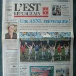 Saison 2006-2007 L'Est Républicain 29-09-2006
