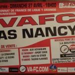 Affiche Valenciennes-Nancy - Saison 2007-2008 - L1 (35e j., 25/04/2008)
