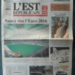 Saison 2009-2010 L'Est Républicain 21-07-2009