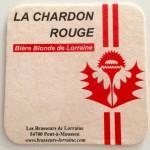 Sous-verre Chardon Rouge 003